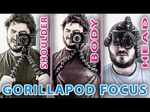 Gorillapod Focus review - For video (Shoulder support + Body Rig + Head mount)