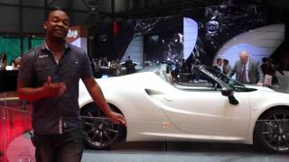 Alfa-Romeo 4C Spider Concept: Up close with the 4C convertible