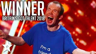 WINNER | Lost Voice Guy | Britain's Got Talent 2018 | Got Talent Global