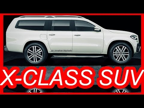 MAKING OF 2018 Mercedes-Benz X-Class SUV #XClass #XtraClass #MBPickup @MercedesBenz
