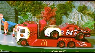 Toy Trucks - Great Matchbox Convoy Trucks - NASCAR Race Transporters