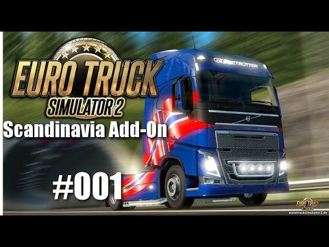 Euro Truck Simulator 2: Scandinavia Add-On #001 - Auf nach Odense