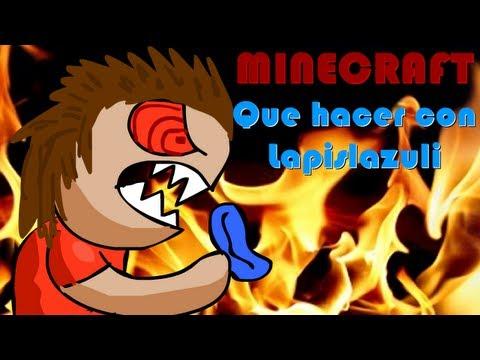 Minecraft Para que sirve LAPISLAZULI en MINECRAFT Humor