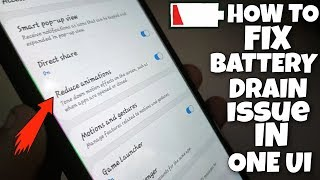 How to fix battery drain issue in ONE UI in any samsung phone ! 🔋