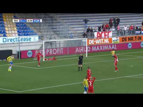Blunder Almere City-doelman gaat de wereld over