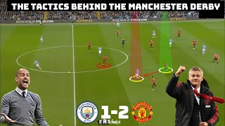 Tactical Analysis Manchester City 1-2 Manchester United | How Ole Beat Pep | How To Counter Attack