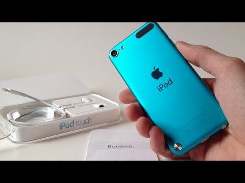 D ballage du ipod touch 5g bleu unboxing youtube for Housse ipod touch 5