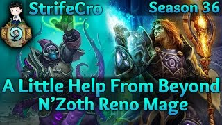 Hearthstone N'Zoth Reno Mage: A Little Help From Beyond