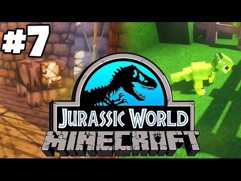 Jurassic World: Minecraft Dinosaurs | OUR FIRST DINOSAUR (Playthrough Part 7)