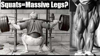 DO SQUATS = MASSIVE LEGS? (Ft. Bret Contreras)