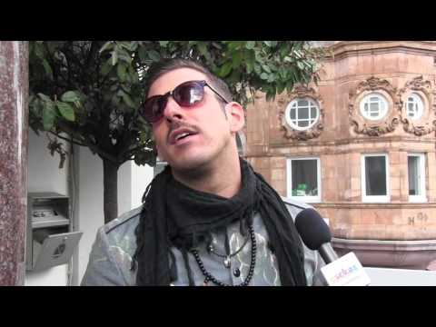 ESCKAZ in London: Interview with Francesco Gabbani (Italy) at London Eurovision Party