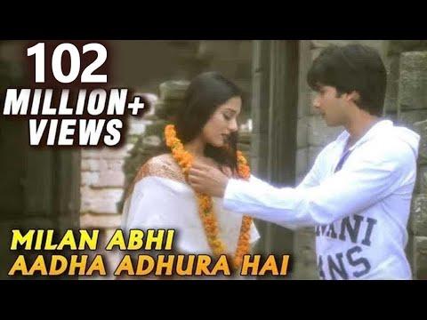 Milan Abhi Aadha Adhura - Shahid Kapoor, Amrita Rao - Vivah - Bollywood Romantic Song video