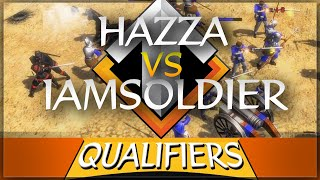⚔️ AoE3 NWC QUALIFICATION SERIES: Hazza54321 vs IAmSoldieR (winner goes to LAN)