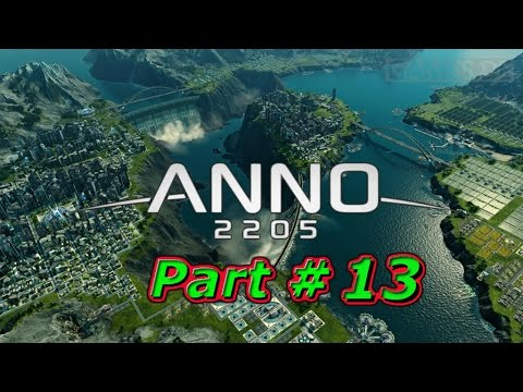Anno 2205 | Let's Play in 1080p | Investors & Diamond Mines #13