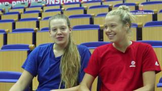 Tapp Twins enjoy being part of Team USA