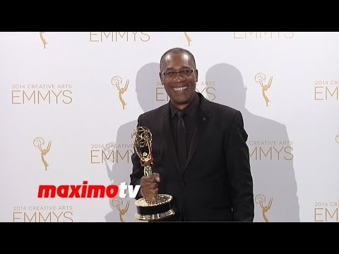 Joe Morton WINNER | 2014 Creative Arts Emmy Awards | Press Room