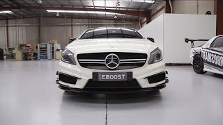 Mercedes-Benz A45 AMG - Standard vs. Turbosmart Blow-Off Valve