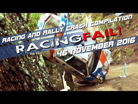 Racing and Rally Crash Compilation Week 46 November 2016