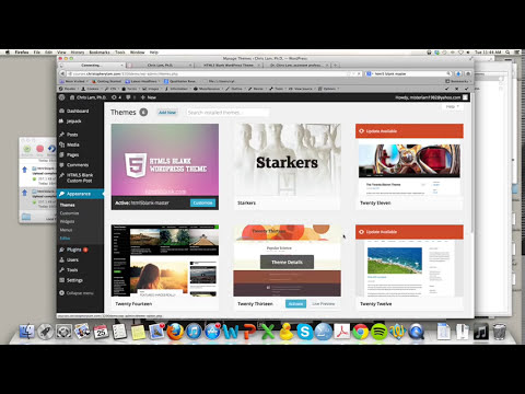 How to convert HTML/CSS page to Wordpress Theme