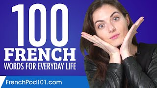 100 French Words for Everyday Life - Basic Vocabulary #5