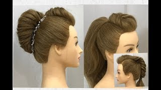 3 Beautiful Hairstyles with Easy Trick : Easy Party Hairstyles