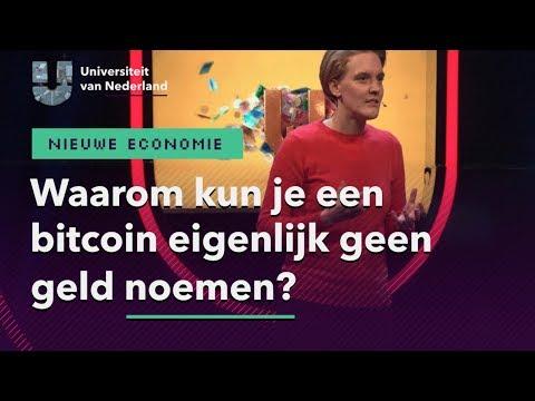 Waarom kun je een bitcoin eigenlijk geen geld noemen? | NIEUWE ECONOMIE
