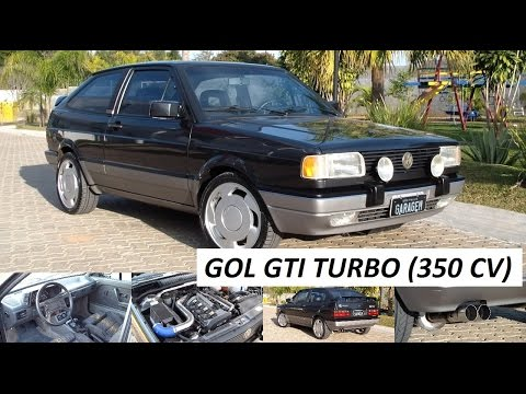 Garagem do Bellote TV (HD): Gol GTI Turbo