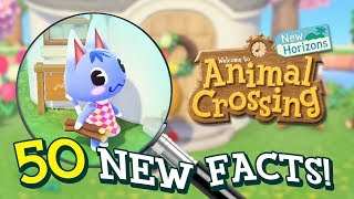 50 NEW Facts About Animal Crossing New Horizons on Switch