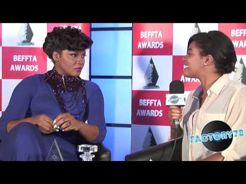 Nollywood Interview - Omotola Awarded Beffta Film Icon Award