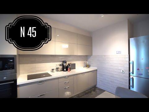 Кухня 12 м2. Дорого. Богато. Обзор ПРЕКРАСНОЙ кухни. Кухня TOUR N 45
