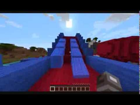 Minecraft 1.6.2: Wipeout  map (Download - http://adf.ly/IUGBn)
