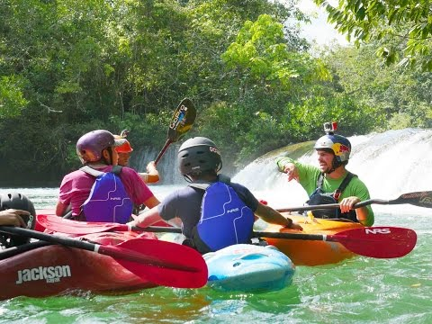 Bringing kayaking to indigenous groups in Mexico.