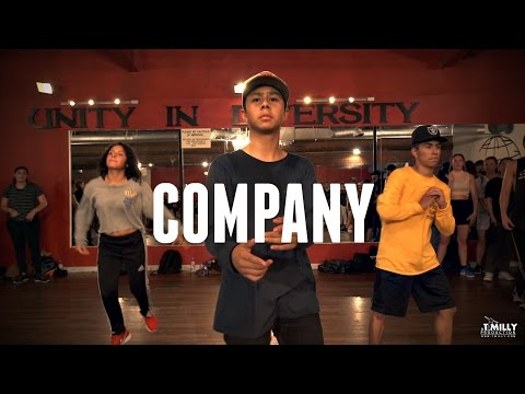 Justin Bieber - Company - Choreography by Alexander Chung - Filmed by @TimMilgram