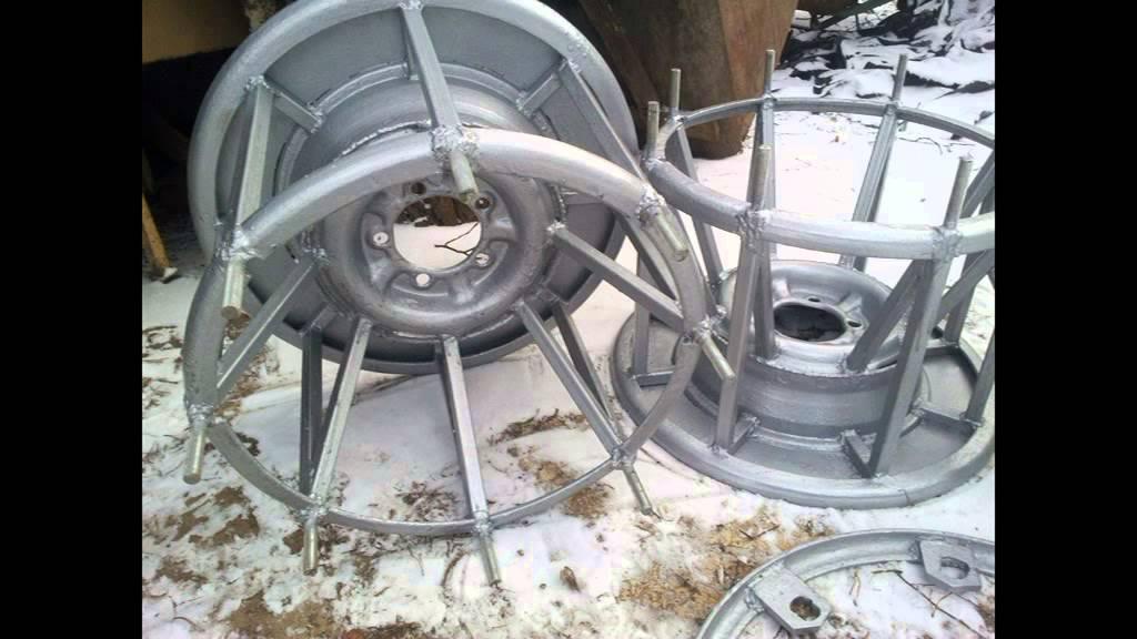 Ютуб как сделать колёса для вездехода