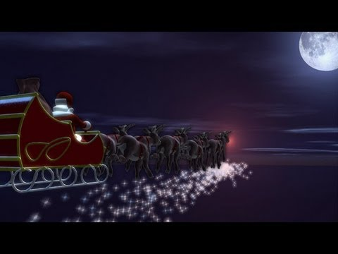 DIGITALmotion Animated Christmas Card Sleigh Ride YouTube