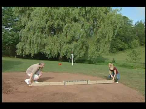 Part 2 of 4 above ground pool installation video by www for Above ground pool removal ideas