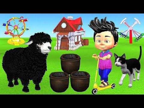 Baa Baa Black Sheep Nursery Rhyme For Kids   Funny Baby Playing