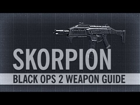 Skorpion EVO : Black Ops 2 Weapon Guide & Gun Review