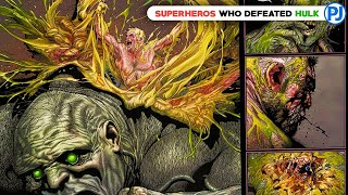 Superheroes Who Can Defeat Hulk in Hindi - PJ Explained