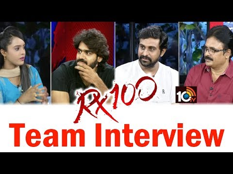 #RX100 | Exclusive Interview With RX 100 Movie Team | #Kartikeya | #AjayBhupathi | 10TV