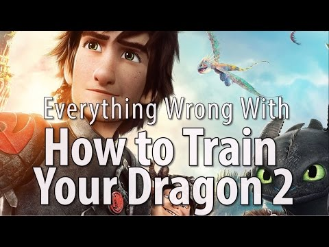 Everything Wrong With How to Train Your Dragon 2 | how to train your dragon 2
