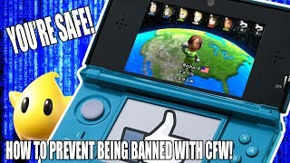 HOW TO PREVENT GETTING BANNED WITH CFW | Nintendo 3DS |