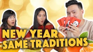 Traditions We Didn't Know About! ft. Julie Zhan & Lucia Liu - Lunch Break!
