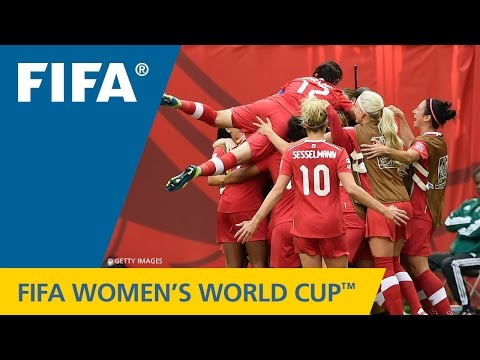HIGHLIGHTS: Canada v. Switzerland - FIFA Women's World Cup 2015