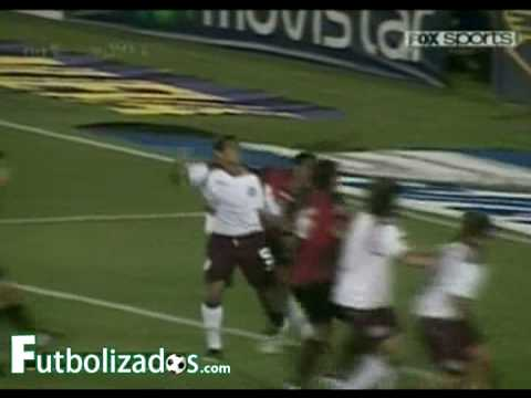 Lanús 2 - Newell's Old Boys 1. Torneo Clausura 2009.
