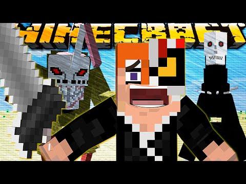 БЛИЧ В MINECRAFT! Обзор мода Minecraft Bleach