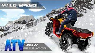 ATV simulatörü 4×4 - off road Quad bike racing 3D - direksiyonlu atv oyunu - araba çizgi filmi