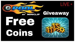 8 Ball Pool Free Coins   8 Ball Pool Giveaway