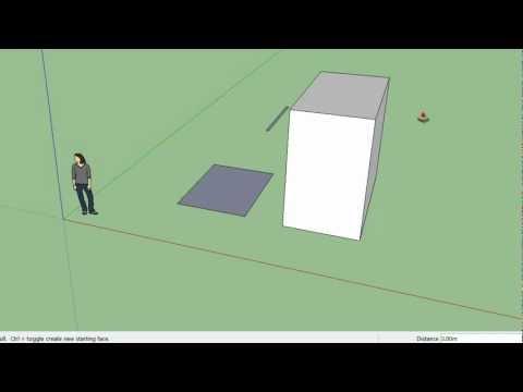 Como obtener medidas exactas al crear modelos con Google Sketchup