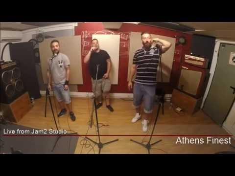 ATHENS FINEST - Στον άνεμο σκόνη (Live @ Jam2studio)